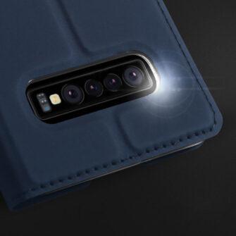 Samsung S10 kaaned DUX DUCIS Skin Pro Bookcase sinine 11