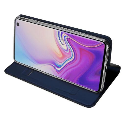 Samsung S10 kaaned DUX DUCIS Skin Pro Bookcase sinine 4