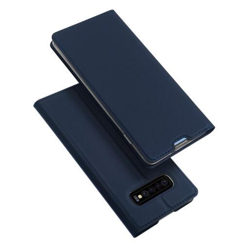 Samsung S10 kaaned DUX DUCIS Skin Pro Bookcase sinine