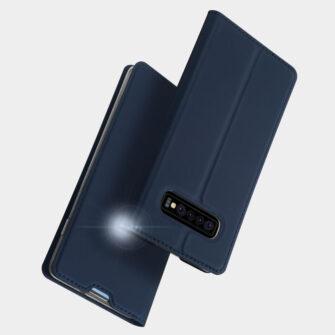 Samsung S10 kaaned DUX DUCIS Skin Pro Bookcase sinine 9