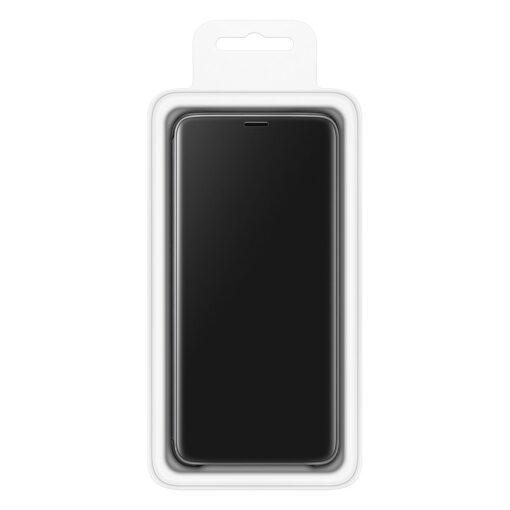 Samsung S10 kaaned Flip plastikust hõbe 8
