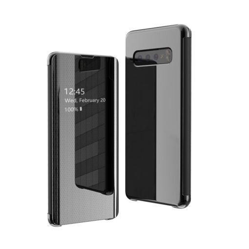 Samsung S10 kaaned Flip plastikust must