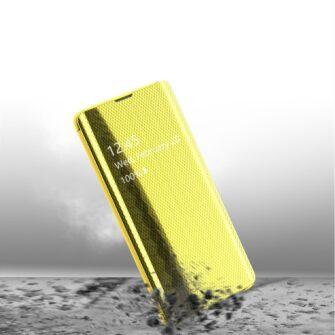 Samsung S10 kaaned Flip plastikust roheline 5