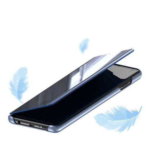 Samsung S10 kaaned Flip plastikust roosa 4