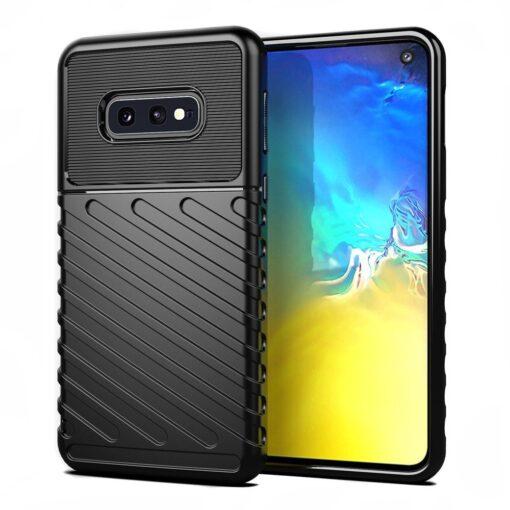 Samsung S10e ümbris silikoonist tugev must 2