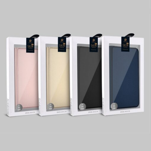 Samsung S20 kaaned DUX DUCIS Skin Pro Bookcase kuldne 21