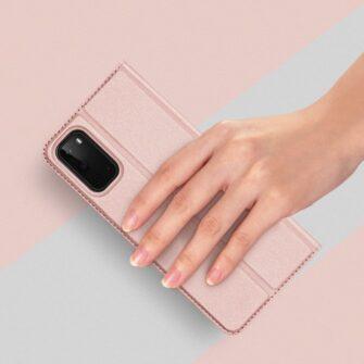 Samsung S20 kaaned DUX DUCIS Skin Pro Bookcase kuldne 7