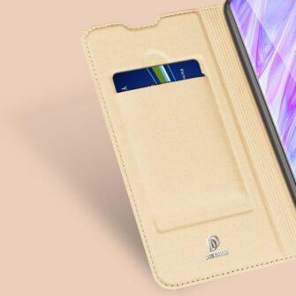Samsung S20 kaaned DUX DUCIS Skin Pro Bookcase kuldne 8