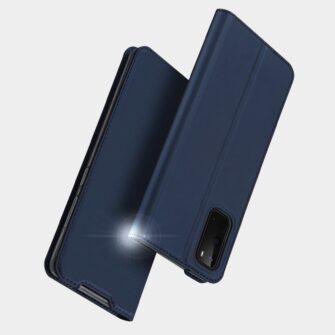 Samsung S20 kaaned DUX DUCIS Skin Pro Bookcase kuldne 9