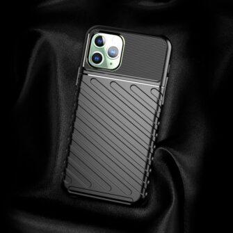 iPhone 11 Pro Max ümbris silikoonist tugev must 2