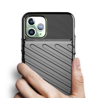 iPhone 11 Pro Max ümbris silikoonist tugev must 3