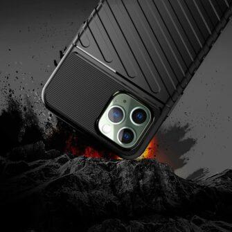 iPhone 11 Pro Max ümbris silikoonist tugev must 4