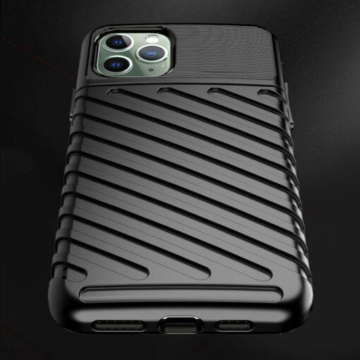 iPhone 11 Pro Max ümbris silikoonist tugev must 5