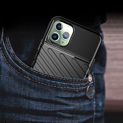 iPhone 11 Pro Max ümbris silikoonist tugev must 7