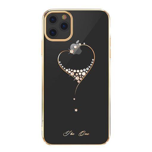 iPhone 11 kinxbar kuldne swarowski kristallidega ümbris