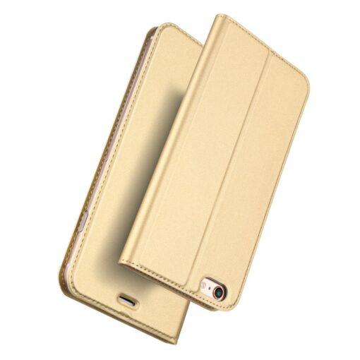 iPhone 66s kaaned DUX DUCIS Skin Pro Bookcase kuldne 1
