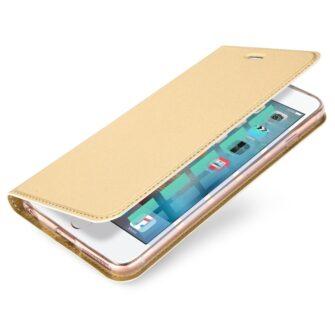 iPhone 66s kaaned DUX DUCIS Skin Pro Bookcase kuldne 2