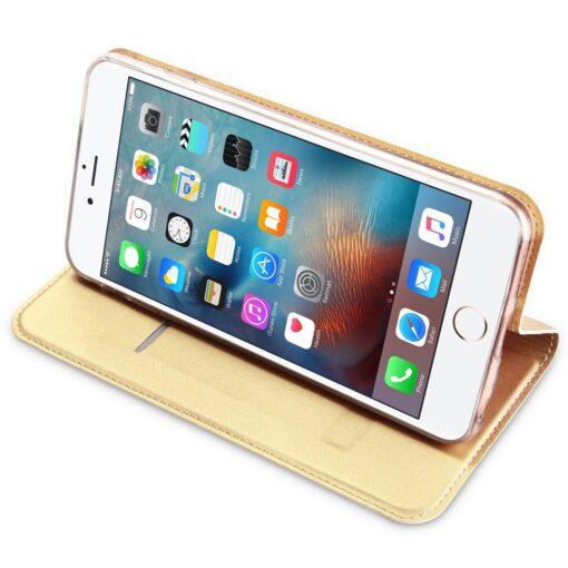 iPhone 66s kaaned DUX DUCIS Skin Pro Bookcase kuldne 3