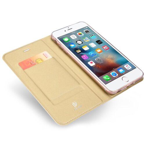 iPhone 66s kaaned DUX DUCIS Skin Pro Bookcase kuldne 4