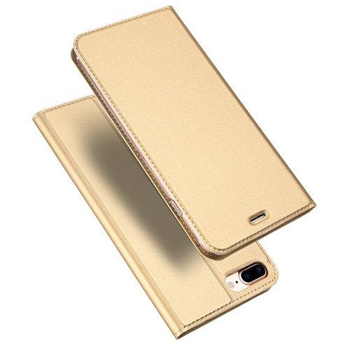 iPhone 8 Plus ja iPhone 7 Plus kaaned DUX DUCIS Skin Pro Bookcase kuldne