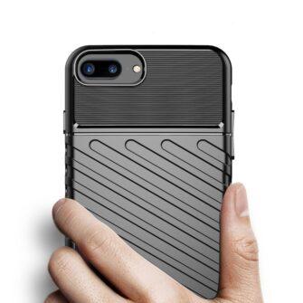 iPhone 8 Plus silikoonist ümbris must tugev 4