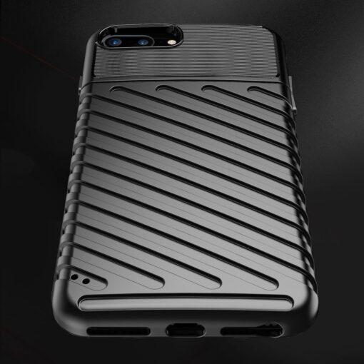 iPhone 8 Plus silikoonist ümbris must tugev 6