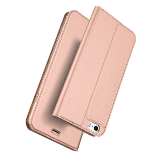 iPhone SE5S5 kaaned DUX DUCIS Skin Pro Bookcase roosa 1