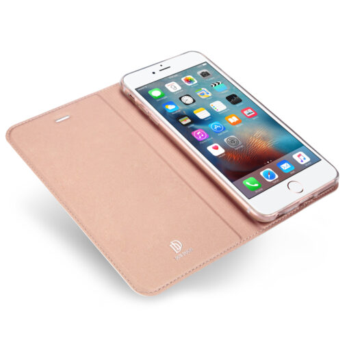 iPhone SE5S5 kaaned DUX DUCIS Skin Pro Bookcase roosa 4