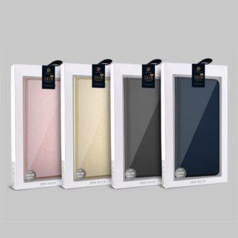iPhone SE5S5 kaaned DUX DUCIS Skin Pro Bookcase roosa 5