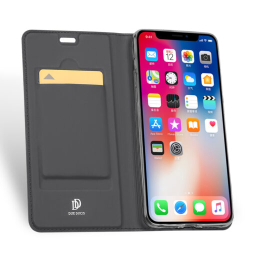 iPhone XR kaaned DUX DUCIS Skin Pro Bookcase must 2