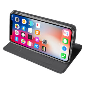 iPhone XR kaaned DUX DUCIS Skin Pro Bookcase must 3