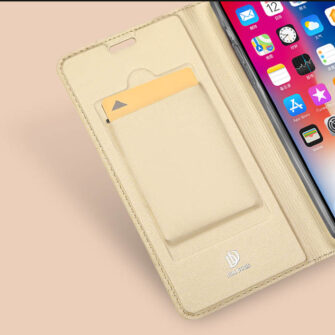 iPhone XR kaaned DUX DUCIS Skin Pro Bookcase must 8