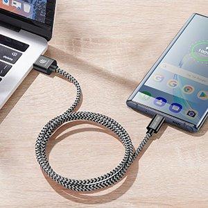 3x USB Android laadija juhe Type C USB C Dux Ducis 0.25m 1m 2m 2A 12