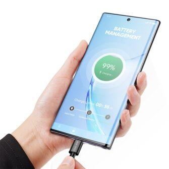 3x USB Android laadija juhe Type C USB C Dux Ducis 0.25m 1m 2m 2A 2