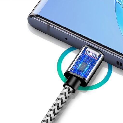 3x USB Android laadija juhe Type C USB C Dux Ducis 0.25m 1m 2m 2A 5