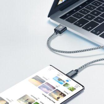 3x USB Android laadija juhe Type C USB C Dux Ducis 0.25m 1m 2m 2A 9