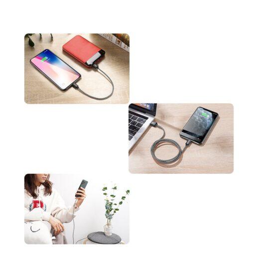 3x USB iPhone laadija juhe lightning Dux Ducis 0.25m 1m 2m 2A 10