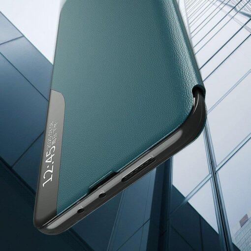 Huawei P30 Pro kaaned kunstnahast oranž 3