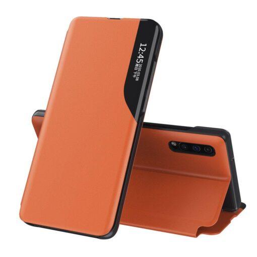 Huawei P30 Pro kaaned kunstnahast oranž