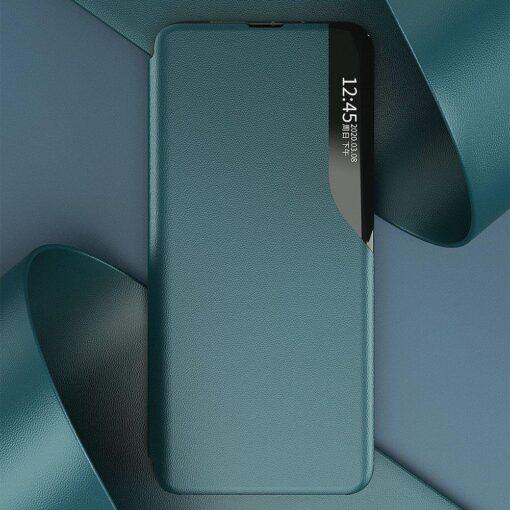 Huawei P30 Pro kaaned kunstnahast roheline 6
