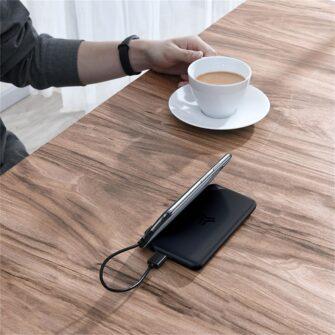 Juhtmevaba laadijaga akupank Baseus S10 Bracket 10000mAh 18W with Wireless Charger Qi 10W black PPS10 01 2