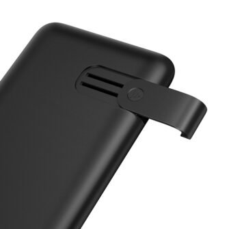 Juhtmevaba laadijaga akupank Baseus S10 Bracket 10000mAh 18W with Wireless Charger Qi 10W black PPS10 01 3