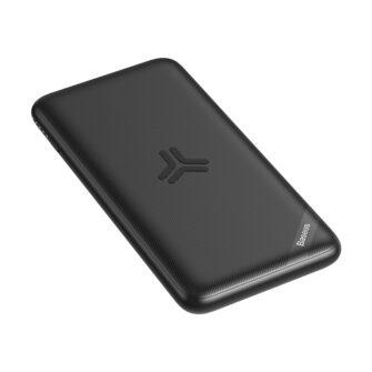 Juhtmevaba laadijaga akupank Baseus S10 Bracket 10000mAh 18W with Wireless Charger Qi 10W black PPS10 01 6