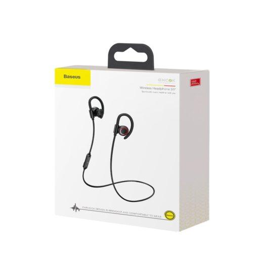 Juhtmevabad kõrvaklapid Baseus Encok Sports S17 IPX5 Bluetooth 5.0 must NGS17 01 16
