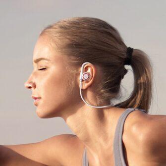Juhtmevabad kõrvaklapid Baseus Encok Sports S17 IPX5 Bluetooth 5.0 valge NGS17 02 10