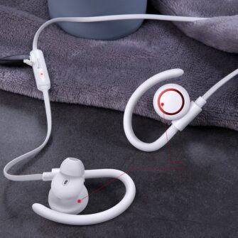 Juhtmevabad kõrvaklapid Baseus Encok Sports S17 IPX5 Bluetooth 5.0 valge NGS17 02 11