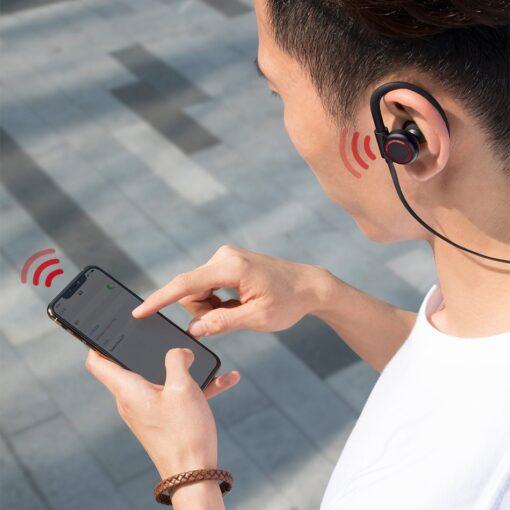 Juhtmevabad kõrvaklapid Baseus Encok Sports S17 IPX5 Bluetooth 5.0 valge NGS17 02 12