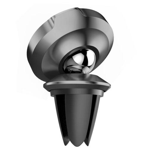 Magnetiga telefonihoidik autosse nahast kattega Baseus Small Ears must SUER A01 2
