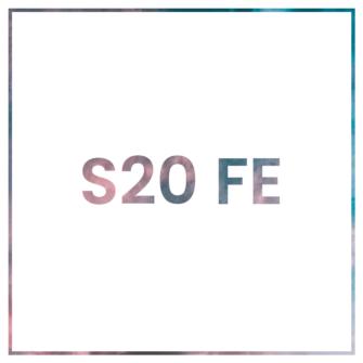 Samsung S20 FE kaaned, ümbrised ja kaitseklaasid