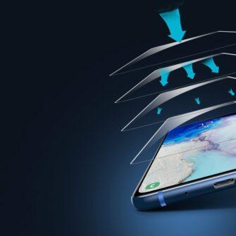 Samsung S20 Ultra kaitseklaas 3D UV lambi ja liimiga 2tk pakis SGSAS20U UV02 10